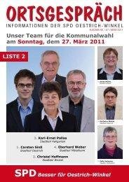 Ortsgespräch Nr. 107 - SPD Oestrich-Winkel
