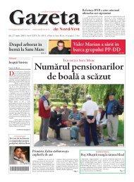 numărul pensionarilor de boală a scăzut - Gazeta de Nord Vest