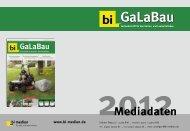 bi-Galabau Mediadaten 2012