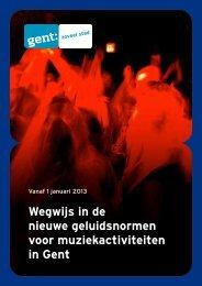 Brochure geluidsnormen - Gent.be