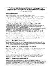 Politieverordening betreffende de vestiging en de ... - OOGent