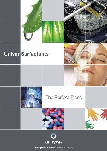 Surfactants Brochure - Univar Colour