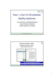 Healthy Hydration - handout.pdf (448.05 kB) - Food a fact of life