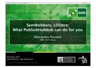What PubSubHubbub can do for you - SemTech 2011