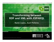 Transforming between RDF and XML with XSPARQL - SemTech 2011