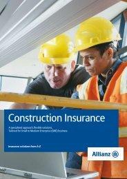 Construction Insurance - Allianz Engage