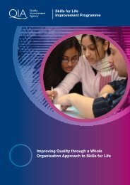 Improving Quality through a Whole Organisation Approach to Skills ...