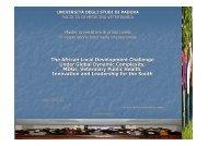 Presentation 2010 International Development ... - Mohamed Yassin