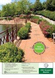 Product Brochure - Bayer Environmental Science Turf & Amenity
