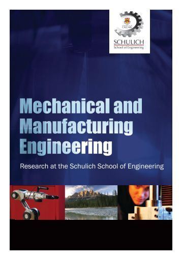department of mechanical engineering manufacturing systems The manufacturing systems engineering master's degree and certificate   involving faculty from the departments of mechanical engineering, electrical and .