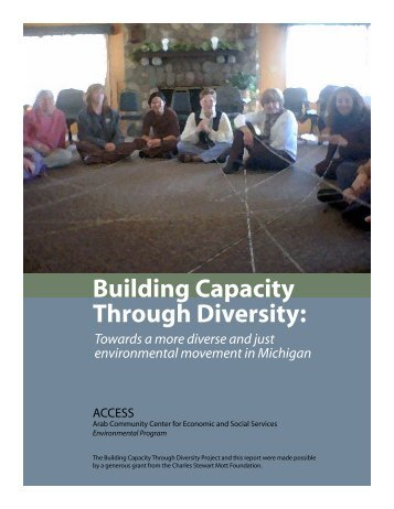 Building Capacity Through Diversity: - Center for Diversity and the ...