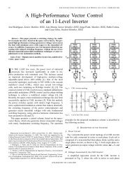 A high-performance vector control of an 11-level inverter - Industrial ...