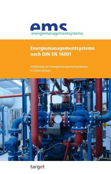 Energiemanagementsysteme nach DIN EN 16001 - Quality Austria