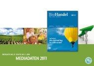 Biohandel Mediadaten 2011
