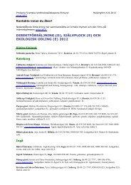 Direktförsäljning från gårdar 2012 - Slf