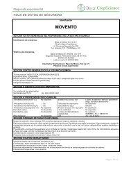 MOVENTO - Bayer CropScience Mexico