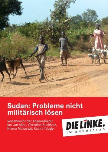 Sudan: Probleme nicht militärisch lösen - Die Linke. im Bundestag