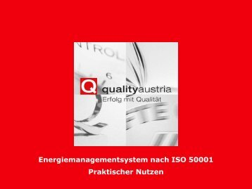 Energie - Quality Austria