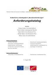 Workpackage 6 Final Report