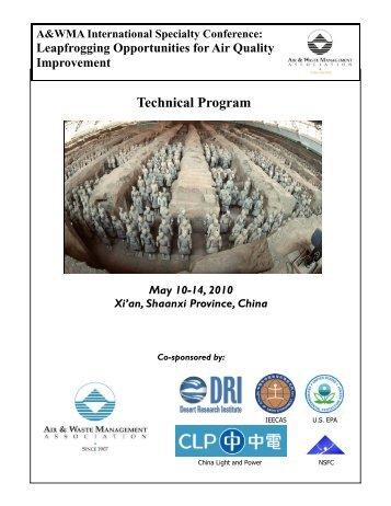 Technical Program - Capita - Washington University in St. Louis