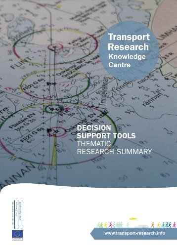 Decision Support Tools - Thematic Research Summary - Transport ...