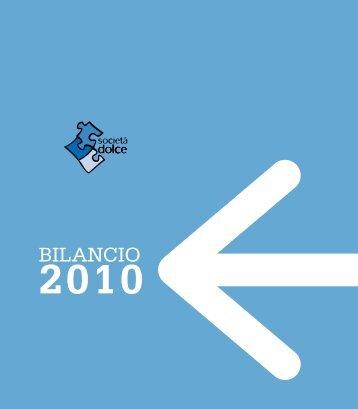 BILANCIO - Cooperativa Sociale Società Dolce