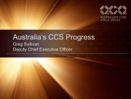 Australian Coal Industry Perspectives on CCS