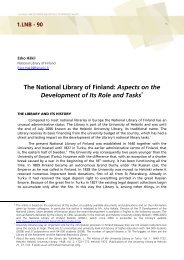 The National Library of Finland - Academia