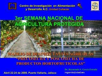 Manejo de desinfectantes agrícolas - Bayer CropScience Mexico