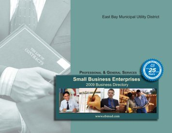 Small Business Enterprises - East Bay Municipal Utility District