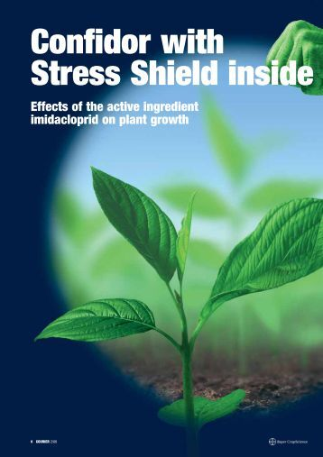 Confidor with Stress Shield inside - Bayer CropScience Mexico