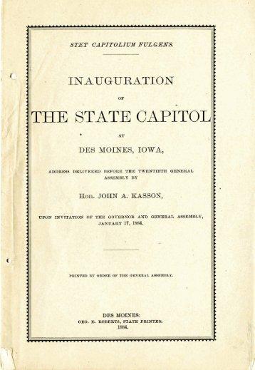 1 - Iowa Publications Online - State of Iowa