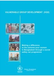 vulnerable group development (vgd) - WFP Remote Access Secure ...