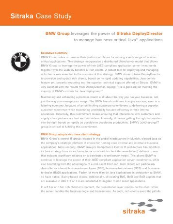 bmw strategic report