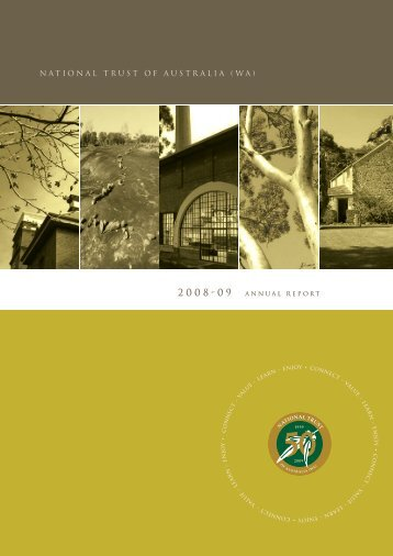 NTWA Annual Report 2008-2009 - National Trust of Australia