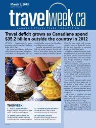 Travel deficit grows as Canadians spend $35.2 billion ... - Travelweek