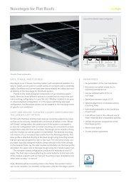 novotegra for Flat Roofs: Datasheet - BayWa r.e.