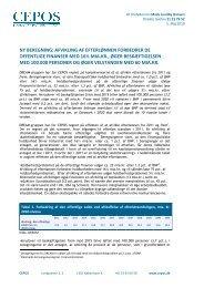 Afvikling af efterløn forbedrer de offentlige finanser med ... - Cepos