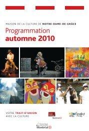 automne 2010 - Accès culture