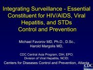 Infected - Viral Hepatitis Prevention Board