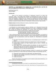 Page 1 - 1 - Foros APORTES AL CONOCIMIENTO DEL MANEJO ...