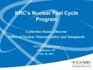 NFSF July 2013 - Haney - Nuclear Energy Institute