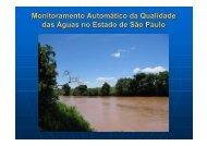O que é monitoramento automático da qualidade das águas? - ASEC