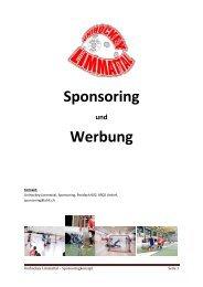 Unihockey Limmattal - Sponsoringkonzept