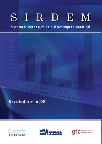SIRDEM - Instituto Nicaragüense de Fomento Municipal