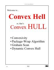 Lecture 32 Convex Hull