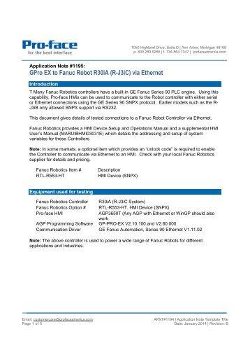 Fanuc r30ia Controller Manual