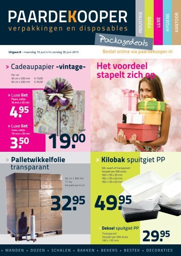 Packagedeals 8 - Paardekooper