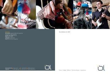Geschäftsbericht 2009 - Industrielle Betriebe Langenthal
