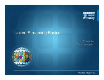 United Streaming How To